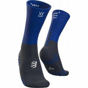 Compressport MID COMPRESSION SOCKS  T3 - Běžecké ponožky