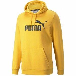 Puma ESS HEATHER HOODIE  XXL - Pánská mikina