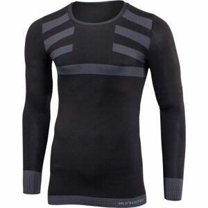 Klimatex RYN  S/M - Pánské bezešvé triko s dlouhým rukávem