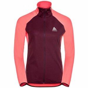 Odlo ZEROWEIGHT WARM HYBRID  M - Dámská běžecká bunda