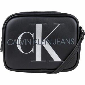 Calvin Klein SCULPTED CAMERA BAG SILVER  UNI - Dámská taška přes rameno