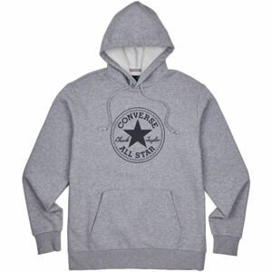 Converse CHUCK TAYLOR ALL STAR PATCH PULLOVER HOODIE  2XL - Pánská mikina