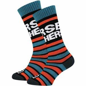 Horsefeathers JASPER YOUTH SOCKS  23/25 - Dětské snowboardové ponožky