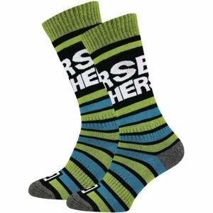 Horsefeathers JASPER YOUTH SOCKS  20/22 - Dětské snowboardové ponožky