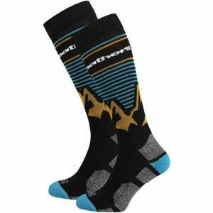 Horsefeathers ARLO THERMOLITE SOCKS  5/7 - Pánské snowboardové ponožky