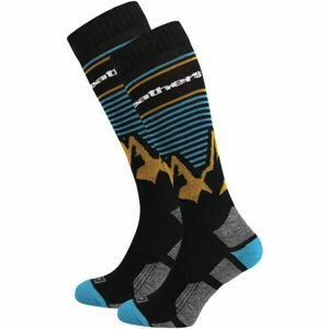 Horsefeathers ARLO THERMOLITE SOCKS  8/10 - Pánské snowboardové ponožky