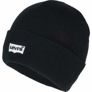 Levi's BATWING EMBROIDERED SLOUCHY BEANIE  UNI - Zimní čepice