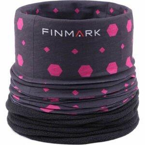 Finmark FSW-129  UNI - Dětský multifunkční šátek