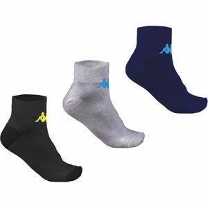 Kappa TRI 3PACK  27-30 - Dětské ponožky