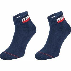 Levi's MID CUT SPRTWR LOGO 2P  39 - 42 - Ponožky