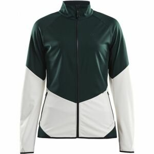 Craft GLIDE zelená XXL - Dámská softshellová bunda