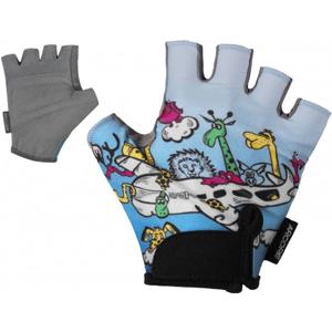 Arcore JET modrá 4 - Dětské cyklistické rukavice