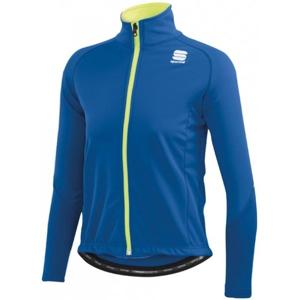 Sportful KIDS SOFTSHELL JACKET modrá 152 - Dětská bunda na běžky