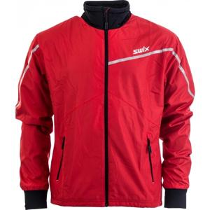 Swix XTRAINING JKT MENS červená S - Lehká všestranná bunda