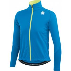 Sportful KIDS SOFTSHELL JACKET modrá L - Dětská bunda na běžky