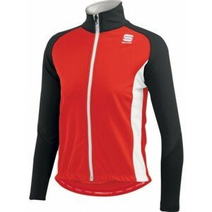 Sportful KIDS SOFTSHELL JACKET červená M - Dětská bunda na běžky