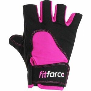 Fitforce K8 černá M - Dámské fitness rukavice