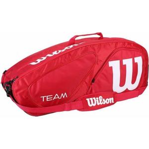 Wilson TEAM II 6PK BAG červená  - Tenisový bag