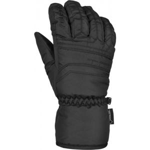 Reusch SNOW DESERT OPEN CUFF GTX černá 8 - Unisex zimní rukavice