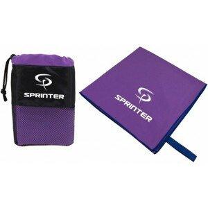 Sprinter RUČNÍK Z MIKROVLÁKNA 100x160CM fialová NS - Sportovní ručník z mikrovlákna