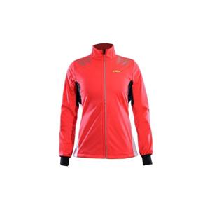 One Way SWOON 2 WO červená XS - Dámská bunda na běžky
