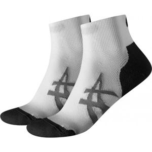 Asics 2PPK CUSH SOCK bílá 47-49 - Sportovní ponožky